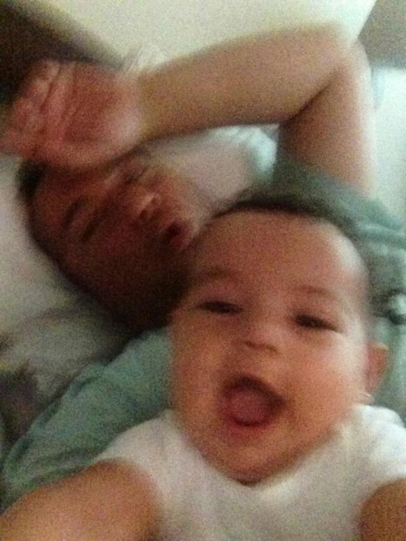 Gritos con papá