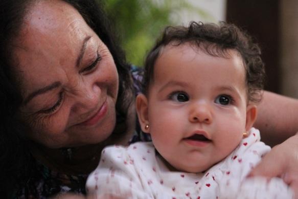 Valentina y mamama