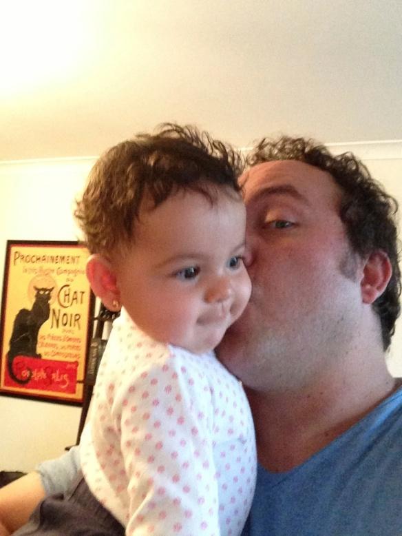 Papa y Valentina