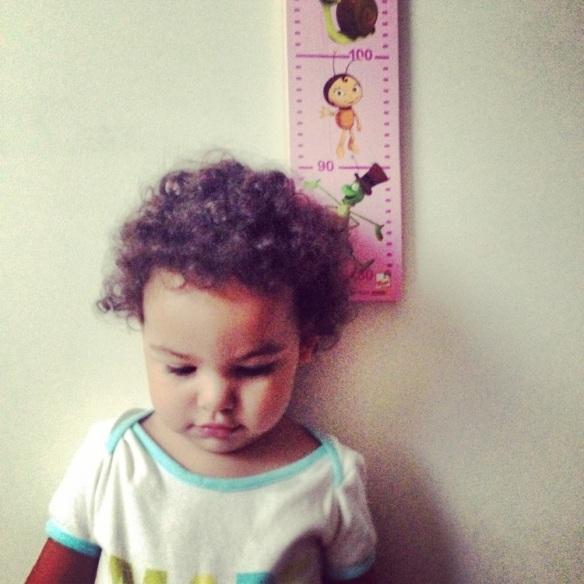 Valentina y su crecimiento