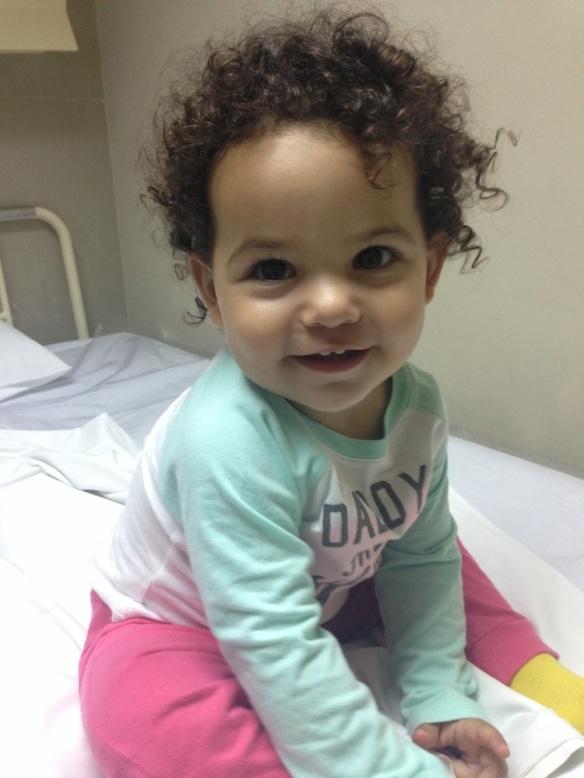 Valentina en la clínica sonriente