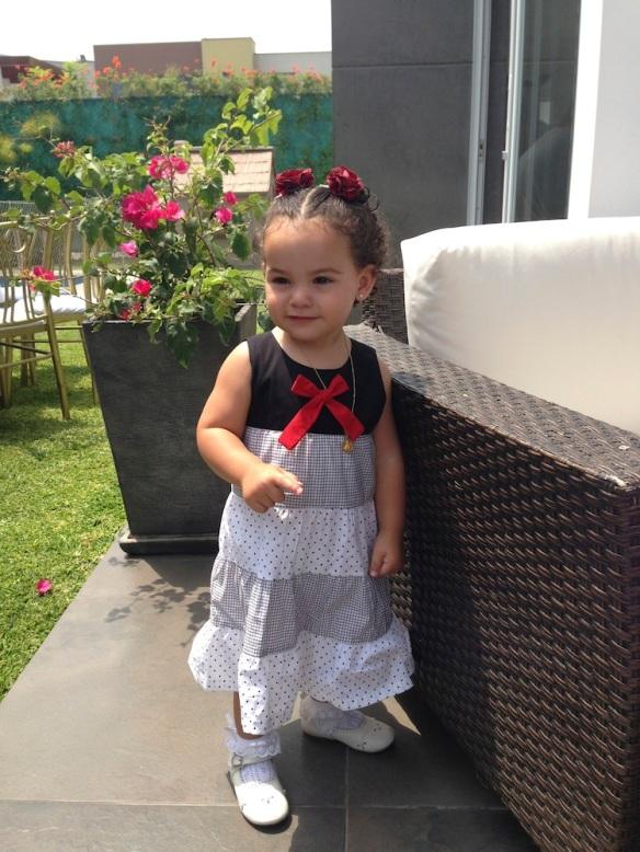 Valentina y su vestido