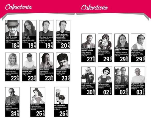 Calendario FIL Editorial Planeta Papapalabras Yo también cambio pañales