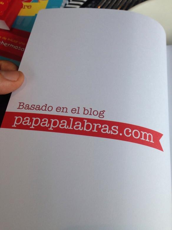 Libro Papapalabras