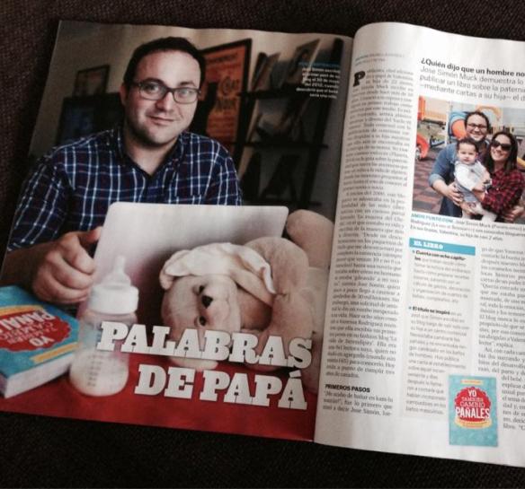 José Muck yo también cambio pañales revista Somos El Comercio