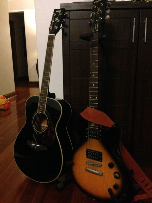Mis guitarras