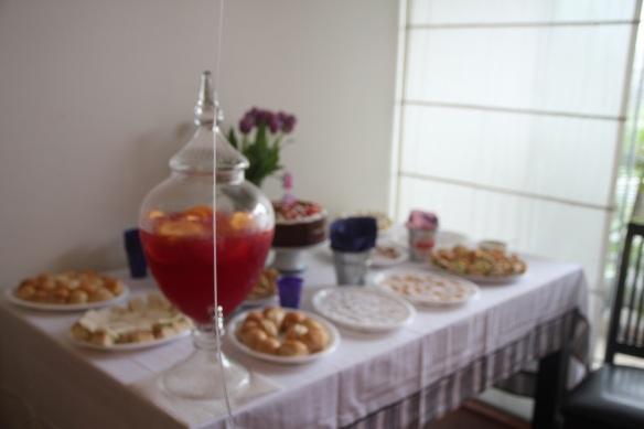 Mesa cumpleaños Valentina