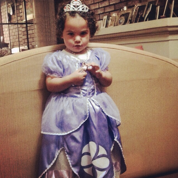 Valentina Princesa Sofia Disfraz