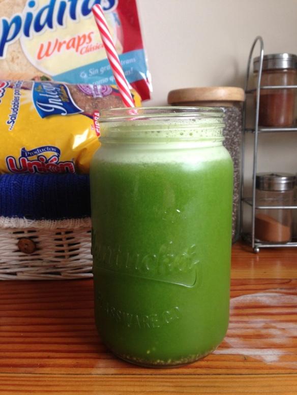 extracto verde mason jar