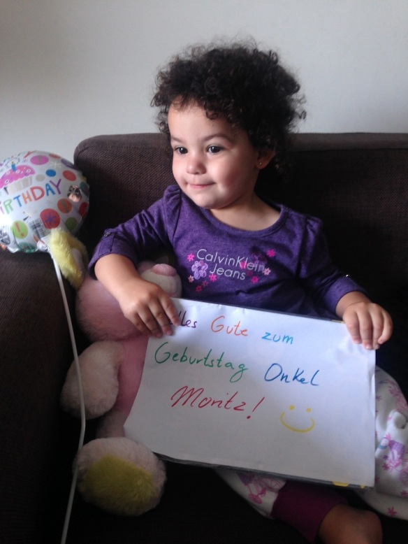 Valentina cumpleaños Moritz
