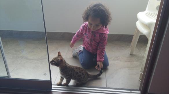 Valentina y los gatitos
