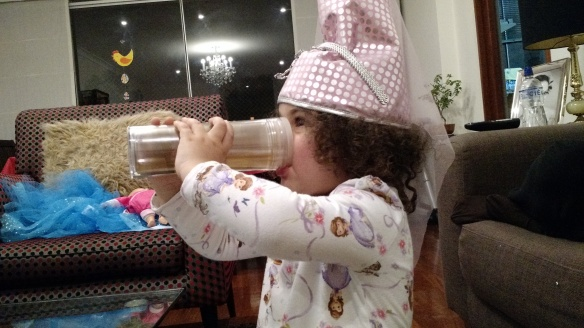 Valentina y sombrero de hada