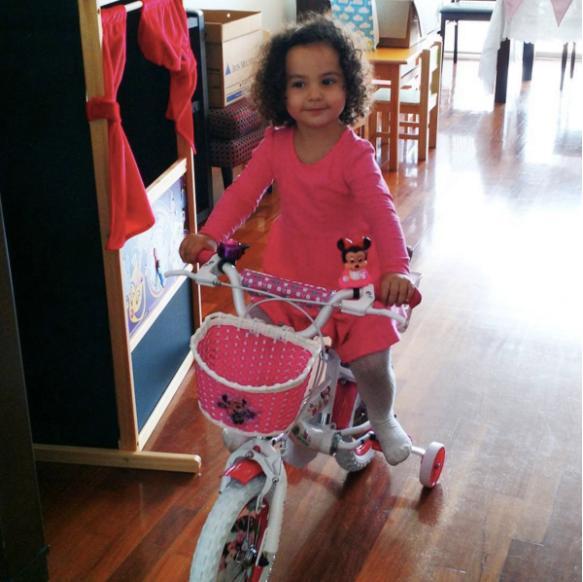 bici de cumpleaños