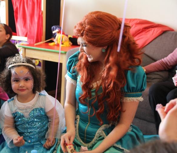 Valentina y Ariel