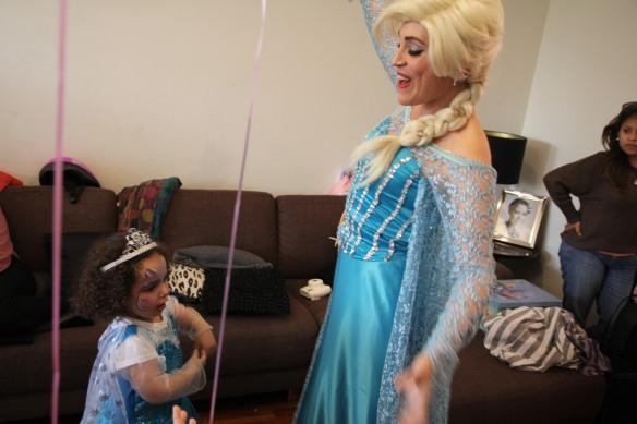 Valentina y Elsa