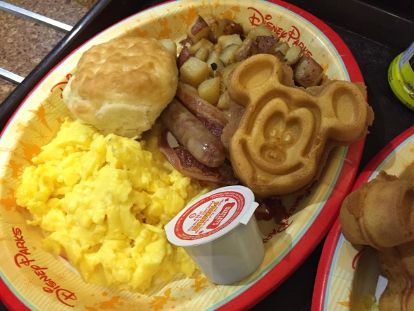 Desayuno en Disney