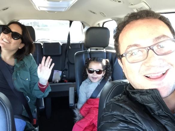 Papá al volante