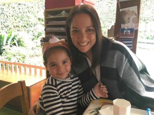 Mami y Valentina