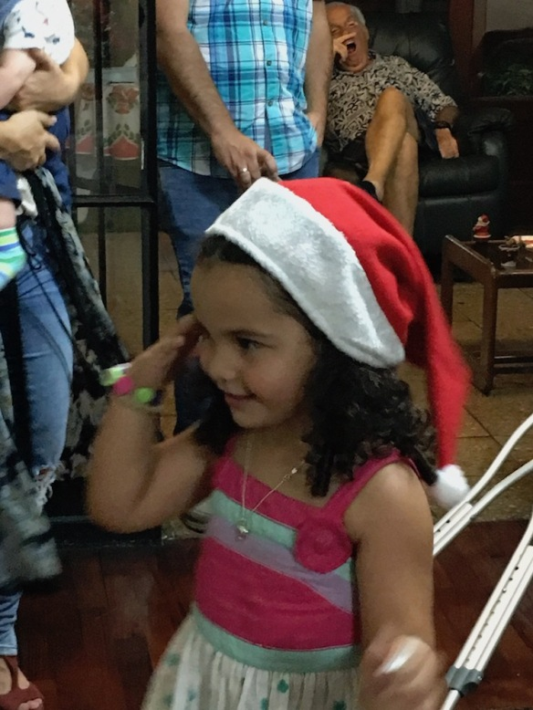 Valentina en Navidad